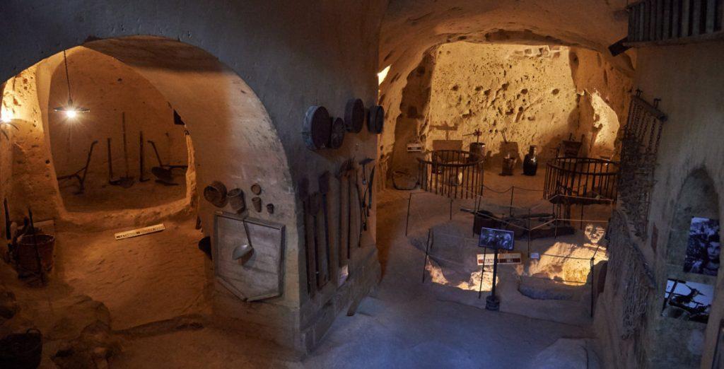 cisterna sotterranea per la raccolta delle acque